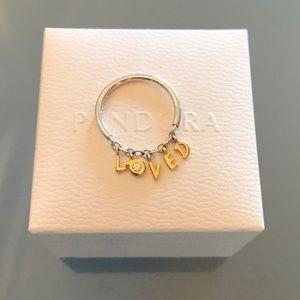 Pandora loved ring
